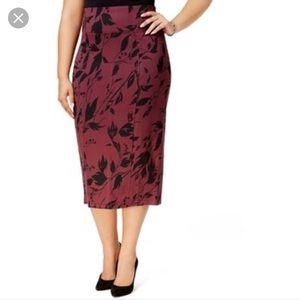 Melissa McCarthy Seven7// pencil skirt, size 1X